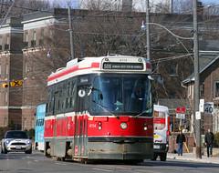 TTC CLRV STREETCAR BROADVIEW (bishop71701) Tags: ttc streetcar trolley tram clrv broadview riverdale february toronto