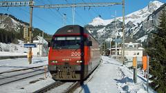 Re 460 090 (BLS + Basel) Tags: sbb re460 kandersteg lötschberg nordrampe eisenbahn fahrzeug zug lokomotive