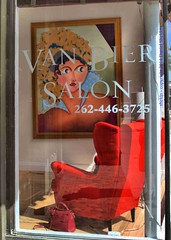 Van Bier Salon Store Front Clinton Street Waukesha WIsconsin by sheldn (2sheldn) Tags: street red art wisconsin canon painting store chair clinton front purse salon bier waukesha van wi hdr allrightsreserved t5i sheldn sheldonize copyrightdanielsheldon allrightsreserveddanielsheldon copyrightdanieljsheldon danielsheldon sheldnart