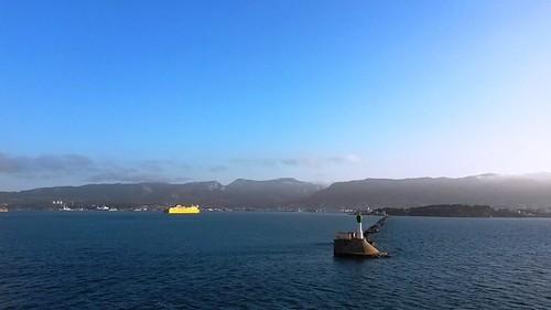 L'arrivée dans le port de Toulon