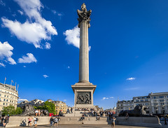 Trafalgar Square, London (stephanrudolph) Tags: city uk england london architecture nikon europa europe wideangle gb handheld architektur d700 1424mm 1424mmf28g