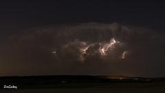 Storm is coming  {Explore} (ZeGaby) Tags: storm pentax champagne explore lightning nuages ricoh cloudporn k3 marne longexposuretime pentaxda35mmf24