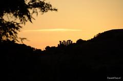 Sicilië_DSC8156 (Travel4Two) Tags: sunset italy evening valley temples sicily avond valledeitempli italië 2014 c0 sicilië tempiodiercole s0 d7000 5880k adl0