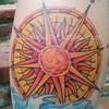 sun.compass (alice white) Tags: compass suntattoo colortattoo suncompass compasstattoo