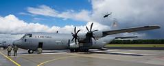 Lielvarde Airbase. Lockheed Martin C-130J-30 Hercules (Sergey Melkonov) Tags: martin sony latvia saber strike lockheed hercules airbase 2014 c130j30 a99 lielvarde sal2470z melkon egumsmunicipality
