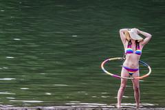 Hula Girl (M$ingh.) Tags: ohio summer usa lake beach girl nikon hula athens bikini swimsuit hulahoop swimsuitmodel d7100