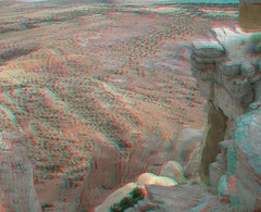 Ghost Ranch Adventure to Chimney Rock in 3d (CaptDanger) Tags: blue red newmexico canon landscape photography 3d rocks anaglyph redrocks historical nm redblue 3dglasses rockformations geological 3dimensional analglyph 3dimages 3dimage 3dphotography 3dpicture anaglyph3d desertrocks ghostranchnm nmwil
