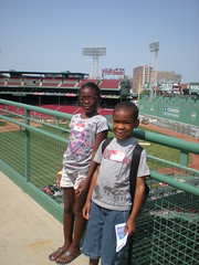 Kid's Day trip to Fenway Park
