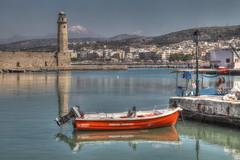 Lighthouse (AdjaFong) Tags: lighthouse greece crete rethymnon