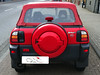 Toyota RAV4 Cabrio mit rotem Verdeck Beispielbild von CK-Cabrio