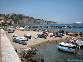 Beaches of Giardini Naxos