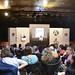 Con motivo del 50 aniversario de la promulgación de la Ley de los Derechos Civiles en los Estados Unidos, que puso fin a la segregación racial, y del reciente fallecimiento de la poeta y activista Maya Angelou, la Casa de América acogio este homenaje, en el que además de la intervención de los profesores Frías y de Lorenzo, se dio lectura de algunos de sus más conocidos poemas. Para más información: www.casamerica.es/?q=literatura/homenaje-maya-angelou