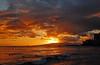 It's Never Over (jcc55883) Tags: ocean sunset sky clouds hawaii nikon waikiki oahu horizon pacificocean waikikibeach yabbadabbadoo d40 kuhiobeachpark nikond40