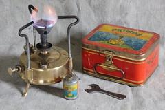Primus No. 97 - Made in Sweden (Frank Smit) Tags: camping sweden spirit gear running equipment made stove wrench primus kerosene petroleum spanner paraffin hjorth