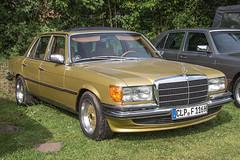 Oldtimermarkt Bockhorn 2014 - Mercedes-Benz W116 (www.nbfotos.de) Tags: auto car mercedes benz mercedesbenz 2014 automobil bockhorn oldtimermarkt w116 oldtimertreffen
