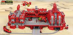 M:Tron Magnet Factory (Blake Foster) Tags: virginia factory lego space foster blake magnet base diorama moc 2014 afol mtron foitsop brickfair