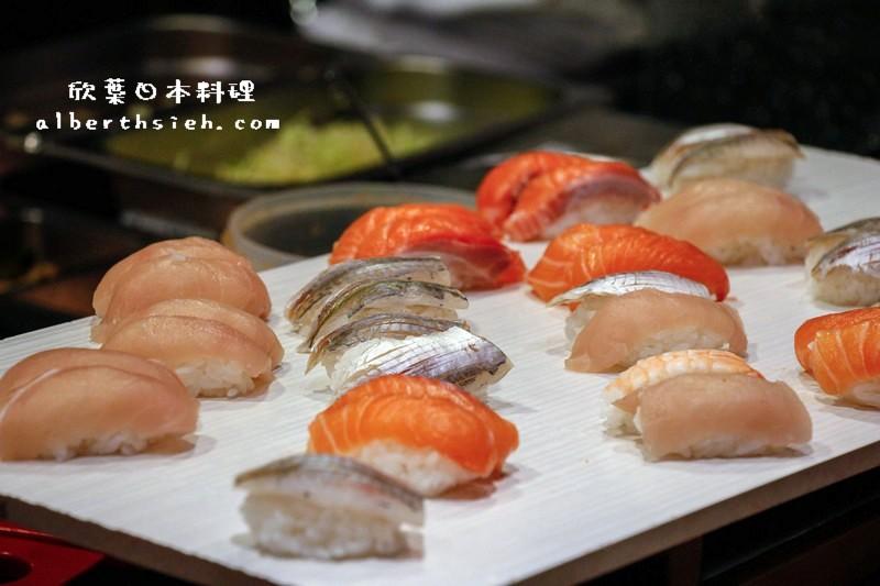 【自助料理吃到飽】桃園市.欣葉日本料理(兼具質感精緻的美味餐點)