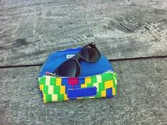Sunglasses case (fulanidetal) Tags: rums kitenge fulanidetal