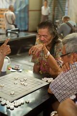 Chess players - Chinatown - Singapore (waex99) Tags: leica old test man game digital singapore chinatown folk chess august older summilux essai vieux homme 50mmf14 jeu 2014 echec m240 agé