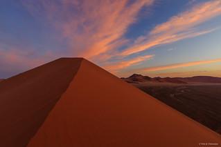 Dune 45 Sossusvlei at Dusk