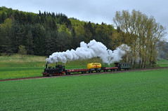 T3 930 GES (Daniel Powalka) Tags: museum train wiese loco steam railways verkehr baum railroads lokomotive schiene strecke münsingen schwäbischealb dampfzug dampfzüge museumsfahrzeuge