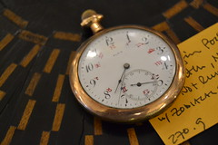 "Elgin Pocket Watch w/ Zodiac • <a style=""font-size:0.8em;"" href=""http://www.flickr.com/photos/51721355@N02/14734278164/"" target=""_blank"">View on Flickr</a>"