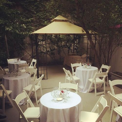 #cocktails #Gramercy #backyard #buffet #NYC #firstclass