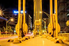 It's Electric (Jaime Dillen-Seibel) Tags: longexposure bridge architecture canon lights pittsburgh traffic streetlights pennsylvania bridges pa flare lightstreaks burgh andywarholbridge h32fda848
