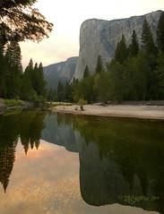 100-El Capitan Reflection (DaveC_5305) Tags: reflection reflections yosemite elcapitan mercedriver