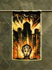 Metropolis 2 (CatsWire) Tags: panel movieposter metropolis bild filmposter beadweaving perlenweben beadlooming
