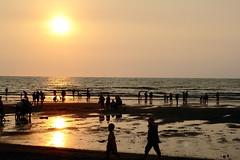sunset at the beach (conan-liu) Tags: sunset dusk  miaoli    zhunan