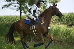Scenes from Catalpa Corner Charity Horse Trials. Katlyn McMorris on Viva's Rachel (Tackshots) Tags: horses corn iowa crosscountry horseshow iowacity equestrian dressage eventing horsepark horsetrials catalapa catalapacorner