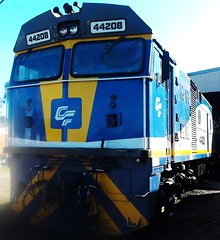 CFCLA 44208 (SHANERROL) Tags: museum locomotive canberra railways act australiancapitalterritory arhs cfcla canberrarailwaymuseum 44208