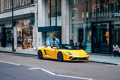 Posing (Jordi James Hales) Tags: london cars car photography rich lifestyle automotive ferrari harrods mclaren porsche bugatti 3000 lamborghini supercar gumball oakley p1 gallardo supercars veyron millionaire f12 berlinetta hypercar laferrari aventador