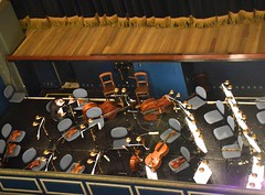 Orchestra Pit (hansntareen) Tags: music praha violin orchestra strings operahouse instruments chello