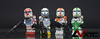 Delta Squad (AndrewVxtc) Tags: boss starwars lego sev custom clonewars scorch fixer republiccommando deltasquad andrewvxtc