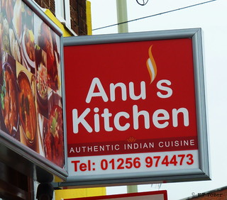 an unfortunate choice of name and logo for a firey food restaurant