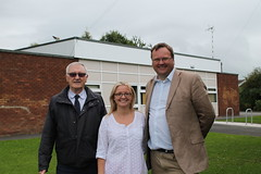 """Stephen Mosley MP joins local councillors Pamela Hall and Keith Board at Vicars Cross Community Centre • <a style=""""font-size:0.8em;"""" href=""""http://www.flickr.com/photos/51035458@N07/14886218328/"""" target=""""_blank"""">View on Flickr</a>"""