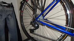 Hewitt Cheviot Touring Bike Flamboyant Blue (Large) (drbw120367) Tags: hewittcheviotinflamboyantbluelarge cool cult shimano xtr rdm972sgs fdm971 fcm970 pda530 csm771 slbs78 deda blackburn continental retro modern steel british black silver blk qr 700c 36h dt swiss tk540 blr600 avid shorty6 sram fizik hudz duraace gears 30sp 10sp m5 sks thomson brooks b17 special cat eye micro tyres 28mm elite x4 campagnolo nos atozi chg980 chain kcnc cl1 ex2 road bike bespoke vintage build fast racer reynolds 631 tourer touring hewitt cheviot flamboyant blue large rack
