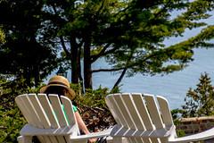 I5895- Dernier/Last week-end (BLEUnord) Tags: summer river reading read stlawrence stlaurent t repos fleuve 2014 loisir leasure
