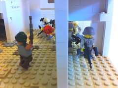Modern combat: making a foothold (tyfighter07) Tags: lego moc moderncombat brickbuilder7