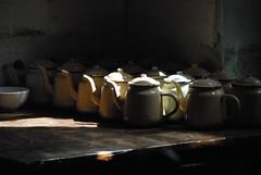 China-Xinjiang-Kashgar-tea house kitchen (venturidonatella) Tags: china light nikon tea ngc pots xinjiang kashgar d200 teatime kashi teahouse cina tazze greatphotographers nikond200 5photosaday teiere flickrelite worldtrekker casadelte totalphotoshop