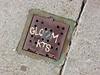 Gloom KTS, San Francisco, CA (Robby Virus) Tags: sanfrancisco california metal concrete graffiti tag pipe cement drain sidewalk cover gloom kts pavament