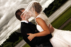 Mr & Mrs Douglas (Zphotography!) Tags: clouds groom bride scotland kiss kilt hamilton marriage weddingdress lanarkshire weddingphotographer weddingphotography zeephoto alonahotel wwwzeephotocouk 2014zeephoto