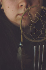 (C. Leigh Photography) Tags: selfportrait canoneos10d canoneos eos10d dreamcatcher selfie sortof