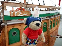 Pollywannacracker? (Sa//y) Tags: bear bristol boat ship teddy parrot pirate arrr cabot thematthew avastmehearties steiffcockatoo