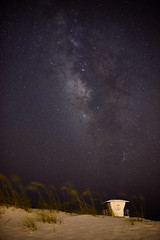 Life-Guardian of the Galaxy (Sean Sebastian) Tags: life trip travel night way stars photography nikon time florida fort outdoor guard explore galaxy astrophotography dslr milky d800 pickens