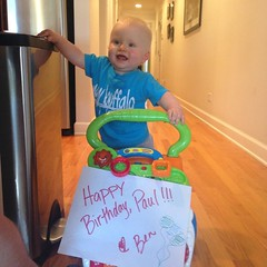 """Ben Wishes Paul a Happy Birthday • <a style=""""font-size:0.8em;"""" href=""""http://www.flickr.com/photos/109120354@N07/15128694588/"""" target=""""_blank"""">View on Flickr</a>"""