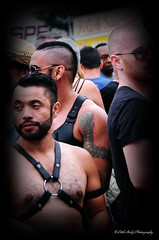 Folsom Street 2014 (Little Italy Photography) Tags: sanfrancisco california costumes men colors face leather nikon women muscle bare chest events streetfairs hats makeup beards hunk tattoos styles snakes stud neighborhoods folsomstreetfair hairychest tats smokinghot harnesses mansman folsomleatherfestival nikond90 nikon18105mmf3556afsdxvrednikkorlens