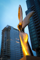Nike (PiscesDreamer) Tags: street city morning urban sculpture canada statue bronze vancouver wings downtown britishcolumbia curves curvy nike booty publicart median coalharbour onelove callipygian vancity thurlowstreet westcordovastreet greekgoddessofvictory vancouver2010winterolympicgames vancouver2010winterolympics® vancouver2010winterparalympics® vancouver2010winterparalympicgames pavlosangeloskougioumtzis georgiosaidonis
